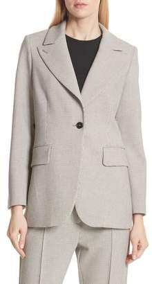 MM6 MAISON MARGIELA Bonded Jersey Plaid Jacket