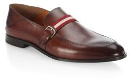 Bally Wendell Convertible Leather Loafers $595 thestylecure.com
