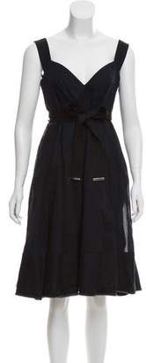 Burberry Sleeveless Midi Dress