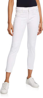 DL1961 Premium Denim Florence Instaculpt Cropped Skinny Jeans, Porcelain