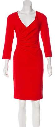 Diane von Furstenberg Pleated Knee-Length Dress w/ Tags