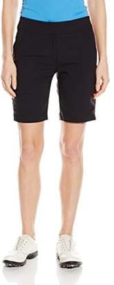 "PGA TOUR Women's 19"" Comfort Stretch Solid Woven Short"