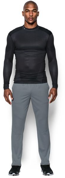 Men's UA ColdGear® Armour Sublimated Compression Mock