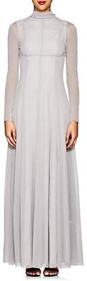 HIRAETH Women's Guinevere Mesh Gown - Light Gray