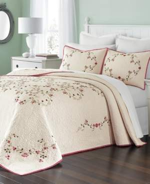 Martha Stewart Collection Westminster Vines Cotton Full Bedspread, Created for Macy's