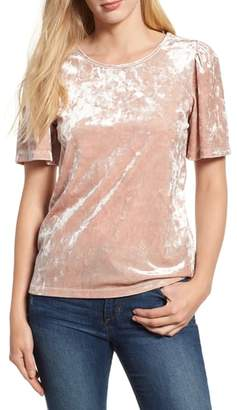 Lucky Brand Stretch Velvet Tee