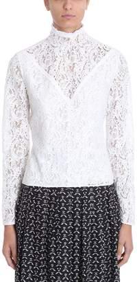 Chloé White Cotton Blouse