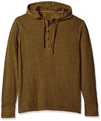 Lucky Brand Men's Double Knit Hoodley