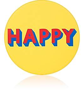 "Lisa Perry Reversible ""Happy"" Vinyl Placemat"