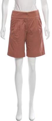 Cacharel Mid-Rise Knee-Length Shorts