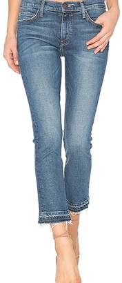 Current/Elliott Current Elliott Cropped Straight Jeans
