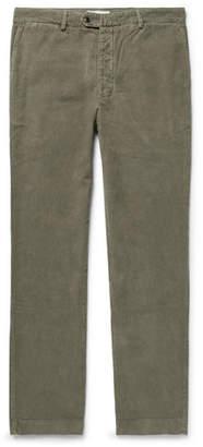 Officine Generale Fisherman Cotton-Corduroy Trousers