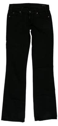 Citizens of Humanity Flared Low-Rise Jeans