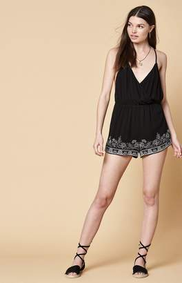 KENDALL + KYLIE Kendall & Kylie Surplice Strappy Romper