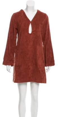 Lisa Marie Fernandez Mini Terry Cloth Tunic w/ Tags