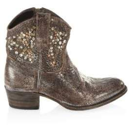 Frye Deborah Studded Leather Boots