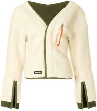 Ambush fleece cardigan