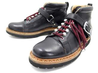 Heschung Black Leather Boots