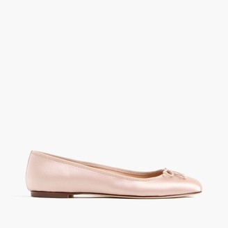 Camille ballet flats in satin $148 thestylecure.com