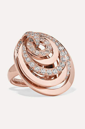 de Grisogono 18-karat Rose Gold Diamond Ring - 7