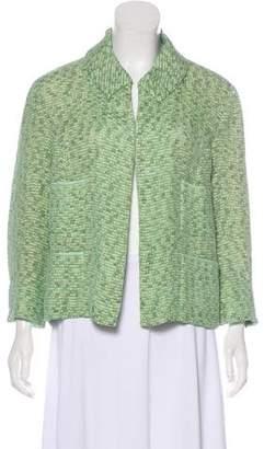 Marc Jacobs Silk-Blend Long Sleeve Jacket