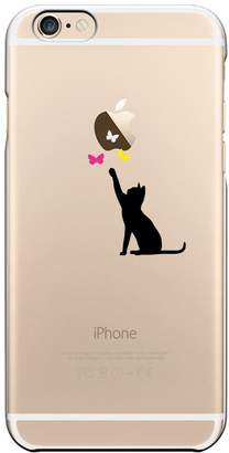 Qissy®TPU Black Cat Pattern Case Cover Skin Protector for iPhone 5/5S/SE