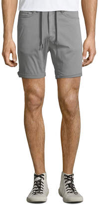 Civil Society Men's Drawstring-Waist Stretch Twill Shorts