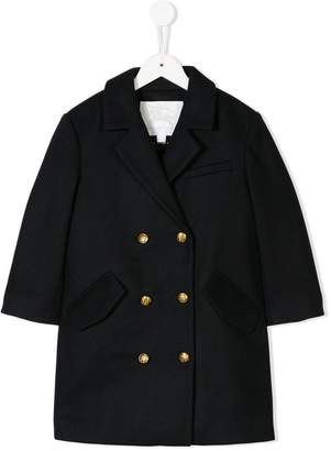 Burberry double breasted peacoat
