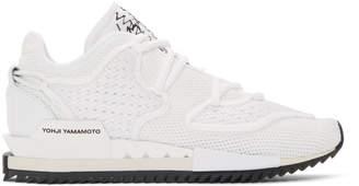 Y-3 Y 3 White Harigane II Sneakers
