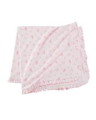 Kissy Kissy Prima Ballerina Pima Baby Blanket