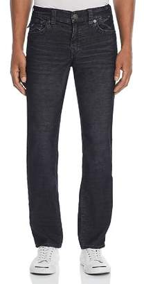 True Religion Geno Straight Slim Corduroy Pants in Black