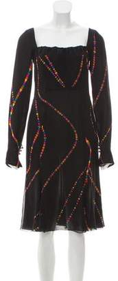 Gianni Versace Vintage Midi Dress