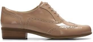 Clarks Hamble Oak Patent Leather Brogues