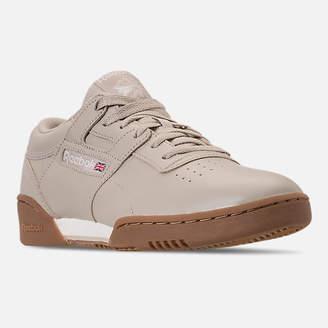 Reebok Men's Workout Clean Casual Shoes