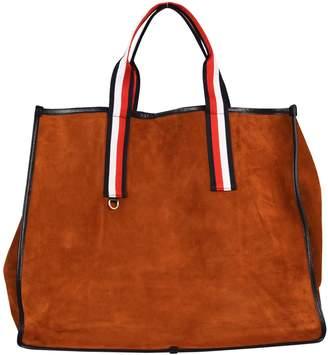 Tommy Hilfiger X Gigi Hadid Leather Shopper Bag