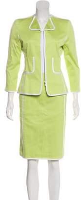 Oscar de la Renta Vintage Skirt Suit