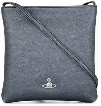 Vivienne Westwood crosshatch textured crossbody bag