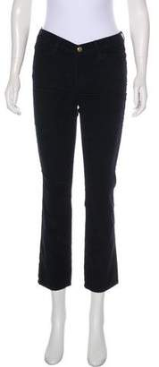 Frame Le High Straight Corduroy Pants