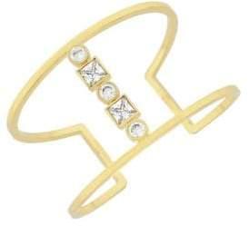 Cole Haan Crystal Cuff Bracelet