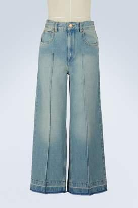 Etoile Isabel Marant Cotton Cabrio jeans