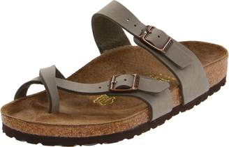 Birkenstock Women's Mayari Adjustable Toe Loop Cork Footbed Sandal 35 M EU