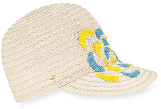 Inverni Hemp-Blend Baseball Cap w/ Caterpillar Detail