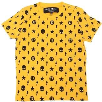 Hydrogen Kid Printed Cotton Jersey T-Shirt