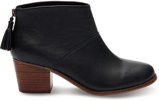 Toms Women's Leila Leather Ankle Boot