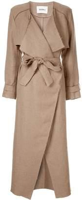 GOEN.J frayed edges coat