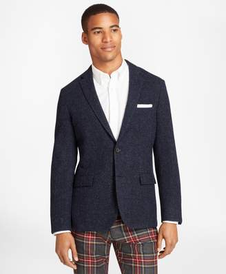 Brooks Brothers Textured Wool Tweed Sport Coat