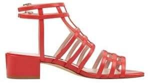 Nine West Xeres Leather Gladiator Sandals