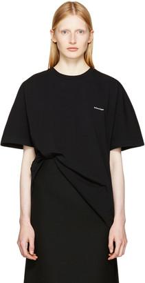 Balenciaga Black Cocoon T-Shirt $355 thestylecure.com
