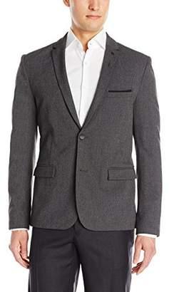 HUGO BOSS BOSS Orange Men's Benestretch Brushed Oxford 3-Piece Suit Jacket