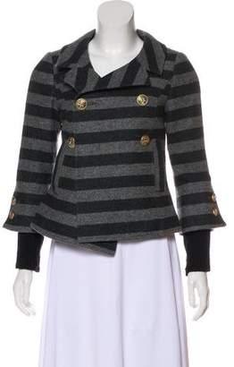 Smythe Striped Wool Jacket